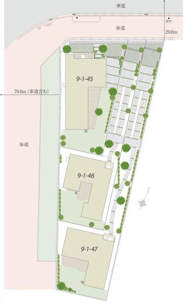 Mirais 三郷中央 nextstage 継ぐ家。A区